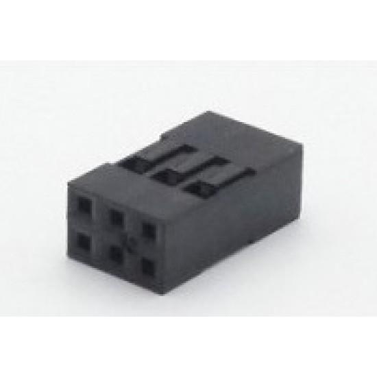 Alojamento Para Conector Modu Duplo 03x2