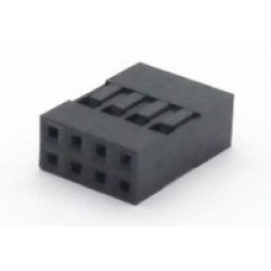 Alojamento Para Conector Modu Duplo 04x2