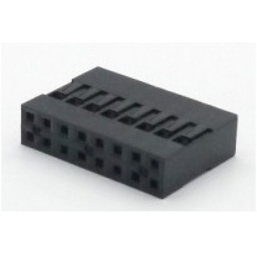 Alojamento Para Conector Modu Duplo 08x2
