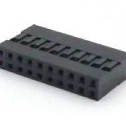 Alojamento Para Conector Modu Duplo 10x2