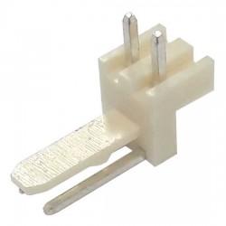 Conector 5046-2 KK 2 Vias Macho 90 Graus 2,54mm
