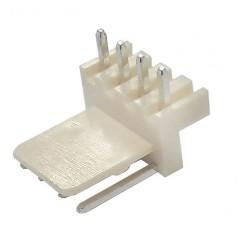 Conector 5046-4 KK 4 Vias Macho 90 Graus 2,54mm