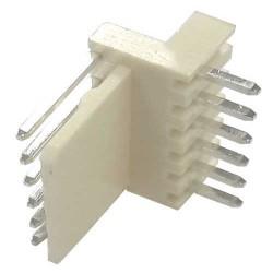 Conector 5046-6 KK 6 Vias Macho 90 Graus 2,54mm