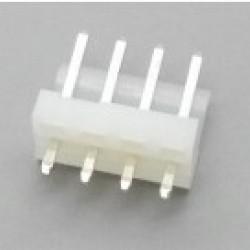 Conector KKzão 4 Vias Macho Passo 3,96mm