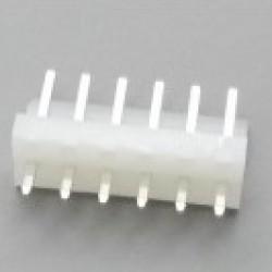 Conector KKzão 6 Vias Macho Passo 3,96mm