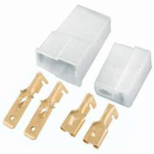 Pacote Com 10 Unidades Conector 2 Vias PCT Tipo Faston