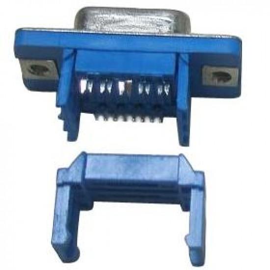 Conector DIDC9 Macho Para Flat Cable