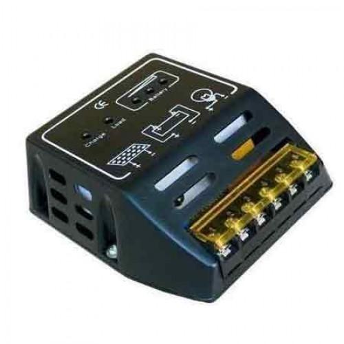 Controlador De Carga De Bateria Para Painel Solar 12V-24V 6A