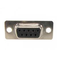 Conector DB9 Fêmea 180 Graus Solda Fio