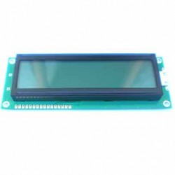 Display LCD 16x2 Big Com Back Fundo Verde AXSC162PCLYH-M1