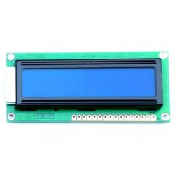 Display LCD 16x2 Back Azul Letra Branca 80x36x13 - JHD162