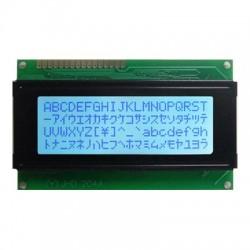 Display LCD 20x4 Back Branco Letra Azul Escuro JHD204A