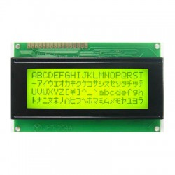 Display LCD 20x4 Back Verde Letra Preta JHD204A