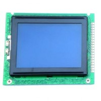 Display Lcd Gráfico 128x64 Back Azul FDCG12864G-NSWBBW-51