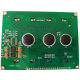 Display Lcd Gráfico 128x64 Back Verde FDCG12864GFLYYBW-51BN