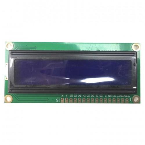 Display Lcd 16x2 Back Azul Letra Branca 80x36x11mm