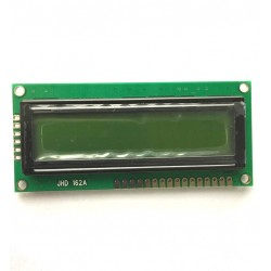 Display LCD 16x2 Sem Back Fundo Verde (80x36x9,5mm)