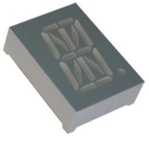 Display De Led Alfanumérico Azul Anodo 0,8 D8X16AB-14BL