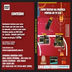 DVD Como Testar Na Prática Fontes De TV LCD