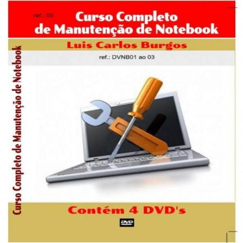 DVD Curso Completo De Manutenção De Notebook