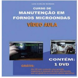 DVD Manutenção Em Forno Microondas