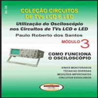 Livro Utilização Do Osciloscópio Nos Circuitos De TVs LCD E LED