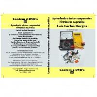 DVD Aprendendo A Testar Componentes Eletronicos Na Pratica