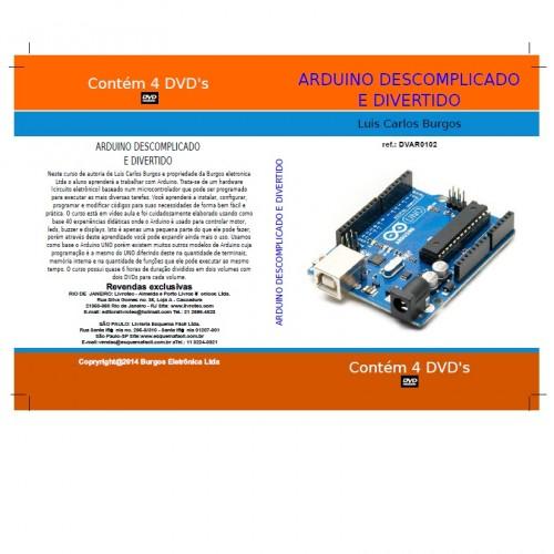 DVD Arduino Descomplicado E Divertido