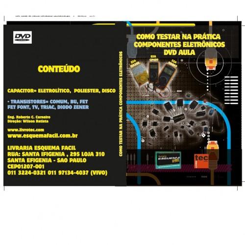 DVD Como Testar Na Pratica Componentes Eletronicos