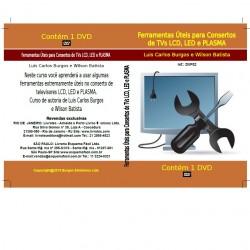 DVD Ferramentas Úteis Para Consertos De TVs LCD,LED E Plasma