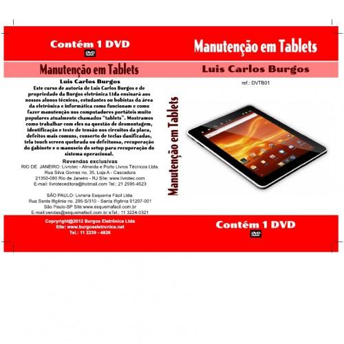 DVD Manutenção De Tablets