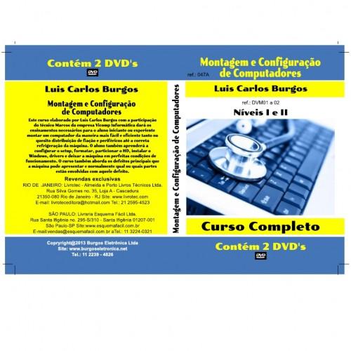 DVD Montagem E Configuraçoes De PC Nivel I E II