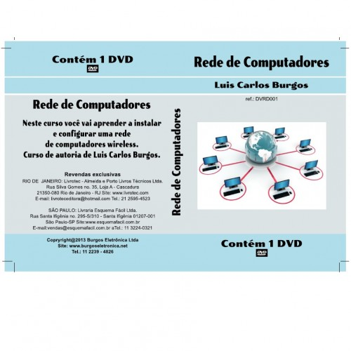 DVD Rede De Computadores