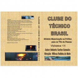 DVD Clube Do Tecnico Brasil 11 Manutencao Na Pratica Para TVs De Plasma