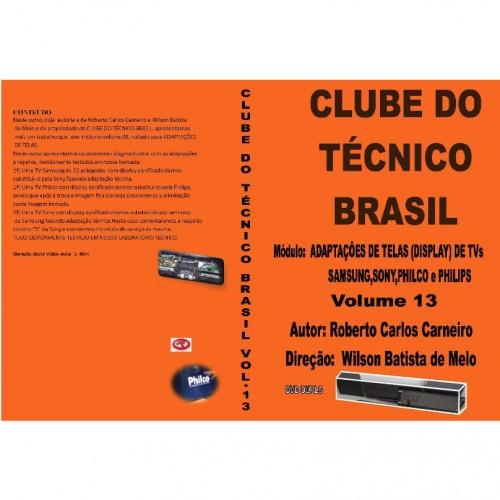 DVD Clube Do Tecnico Brasil 13 Adaptacoes De Telas De TVs