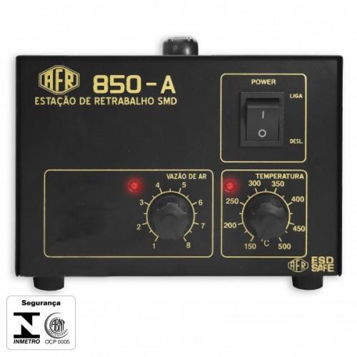 Estação De Retrabalho AFR 850A 127 VAC - Modelo Analógico