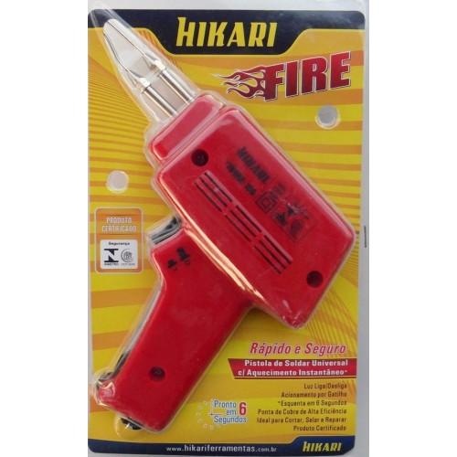 Pistola De Soldar Hikari Fire 150 Potência 55W 220VAC