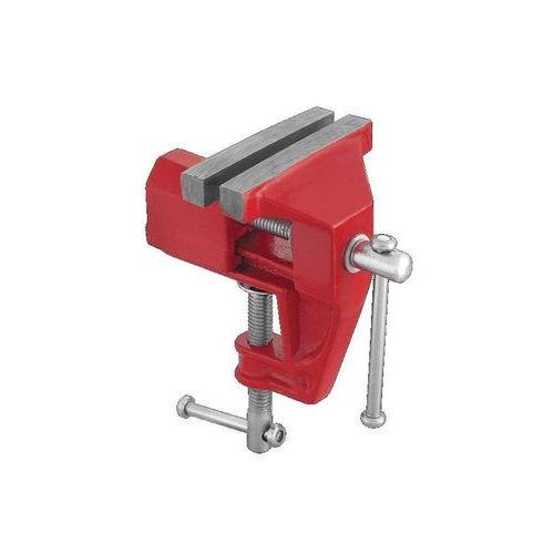 Mini Torno Com Base Fixa 60 mm - Morsa Para Bancada