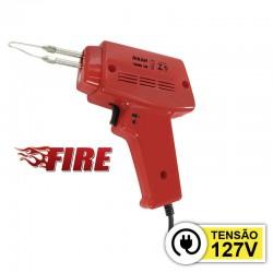 Pistola De Soldar Hikari Fire 150 Potência 65W 127VAC
