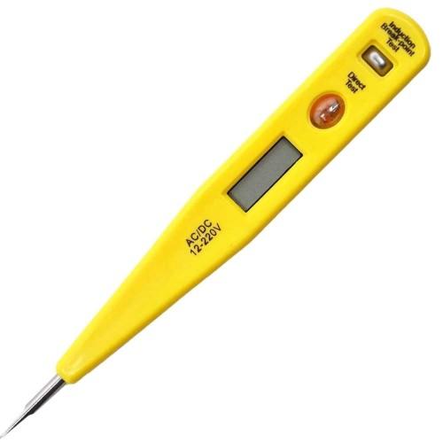 Testador de Voltagem Digital 12V A 220V AC E DC