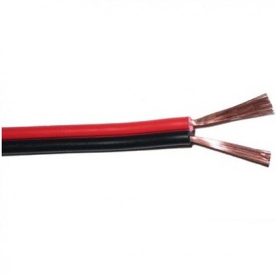 Fio Paralelo Preto E Vermelho 2x1,50mm (metro)