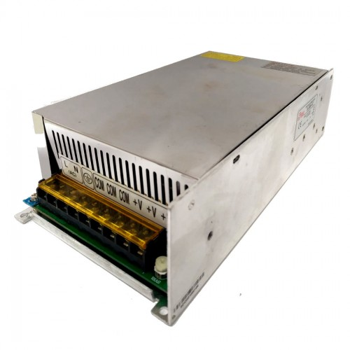 Fonte Chaveada Industrial 500W 12V 41,5A (S-500W/BFC-500W-12VDC)
