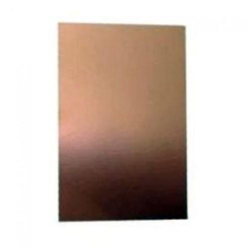 Placa De Circuito Impresso De Fenolite Virgem Simples 5x20cm