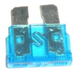 Fusivel Lamina Medio Azul 15A