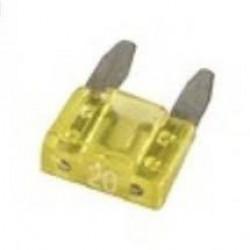 Fusível Lâmina Pequeno Amarelo 20A