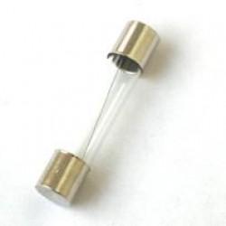 Fusível De Vidro (20AG) 6,3A 5x20mm 250V Rápido