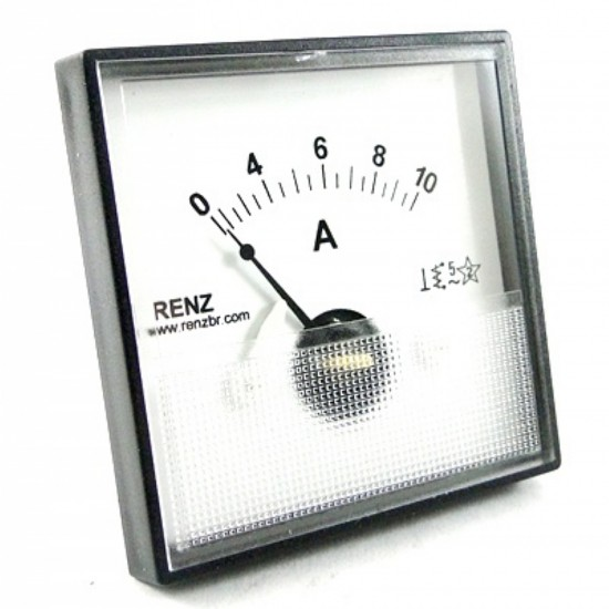 Amperimetro Analógico Renz QR65 50A CA