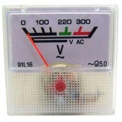 Voltímetro Analógico 91L16-AC 300V