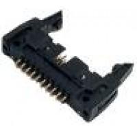 Conector Header 64 Term. 180G Com Ejetor