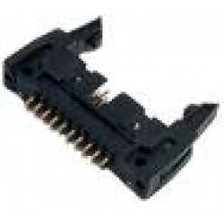 Conector Header 16 Term. 180G Com Ejetor